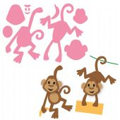 Marianne Design Collectables – Eline's Monkey – COL1399